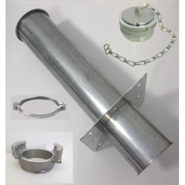Kit tube de remplissage droit