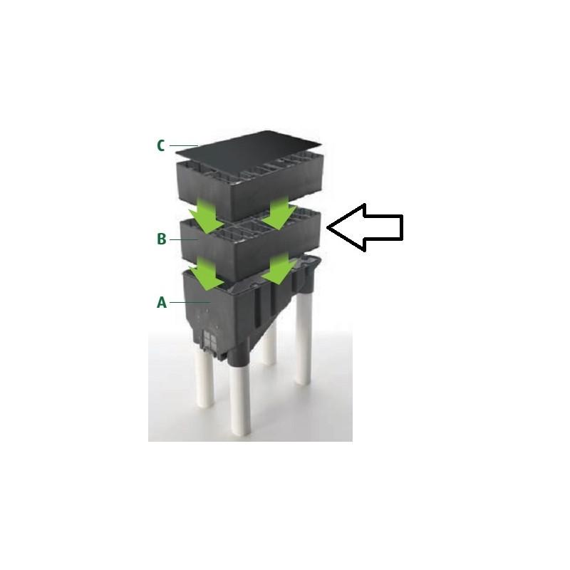 stockage granul de bois stockage pellet accessoire pour. Black Bedroom Furniture Sets. Home Design Ideas